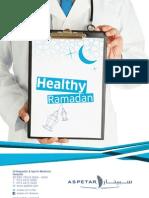 Aspetar Healthy Ramadan campaign