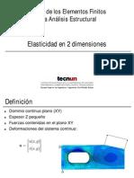 Elasticidad 2D