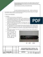 EFI Work Instructions