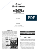 Cry of the Prophets_Paul Billington