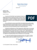 Menendez letter to Kerry