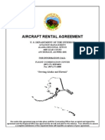 Aircraft Rental Agreement