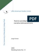 Nuevos Paradigmas en La Narrativa Latinoamericana (2)