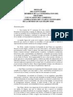MENSAJE CENTENARIO SAN FELIPE NERI.doc