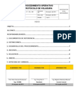 Po -Pv- 01 Procedimiento Operativo - Protocolo de Voladura