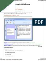 Scanner Software - Scanning Software - Paper Filing Software - OCR PDF - Electronic Filing Cabinet