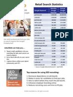 Retail Job Search Statistics Q109