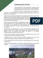 Contaminacion Del Rio Chira