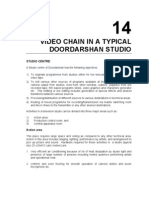 14_Video Chain in a Typical Doordarshan Studio