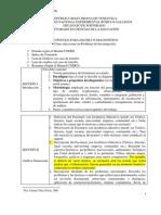 Protocolo para hacer un diagnóstico