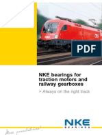 NKE Bearings for Railway
