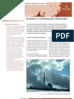 Residuos y Contaminacion Industrial