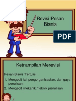 pesan bisnis