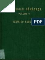 Ramayana Kakawin Vol. 2 of 3