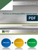 Portarias Da ANP Inmetro INPM Aspectos Gerais