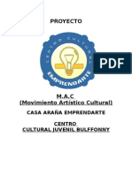 Proyecto Centro Cultural Bulffonny