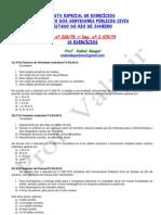 Estatuto do Rio de Janeiro - Lista I - Questões