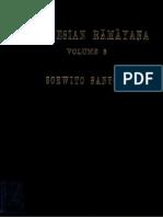Ramayana Kakawin Vol. 3 of 3