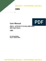 Sra4-Umn 6-13ghz User Manual Ok