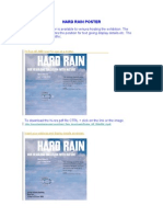 Hard Rain Poster Press Pictures 6