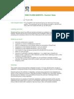 11-14yrs - Adaptations to Arid Habitats - Teachers Notes educatrion
