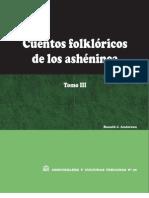Cuentos folklóricos de los ashéninca. Tomo III