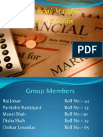 My It Ppt on financial market
