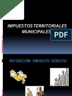 Impuestos Territoriales Municipales