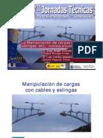 MANIPULACION DE CARGAS CON CABLES