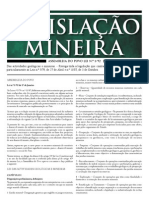 Lei1_92 LEGISLAÇÃO MINEIRA