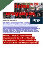Noticias Uruguayas Martes 9 de Julio Del 2013