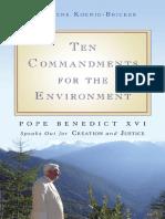 Ten Commandments for the Environment (excerpt)