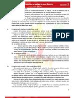 Lección 2 - EBDV 2013