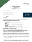 CARPER LAD Form No. 3 Notice of Coverage