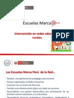 Presentación Redes Rurales de Escuelas Marca Perú
