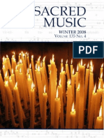 Sacred Music, CMAA, Winter 2008