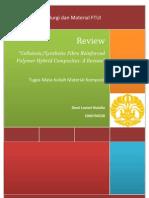 Dewi Lestari Natalia (1006704530) - Tugas Review; Journal Review Material Komposit