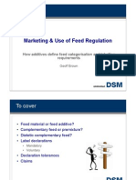 DSM FEED Labelling