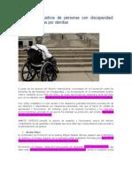 Acceso a La Justicia de Personas Con Discapacidad