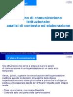 Il piano di comunicazione per la PA