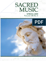Sacred Music, Volume 136, Number 1, Spring 2009
