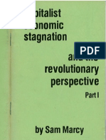 Capitalist Economic Stagnation and the Revolutionary Perspective, Part 1