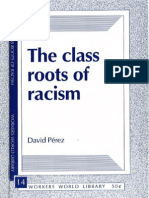 The Class Roots of Racism