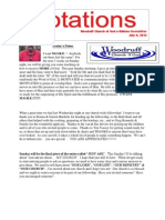 Newsletter 7.9.13