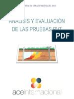 Análisis y Evaluación de las Pruebas PVT