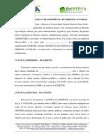 CONTRATO DE CESSÃO DE DIREITOS AUTORAIS
