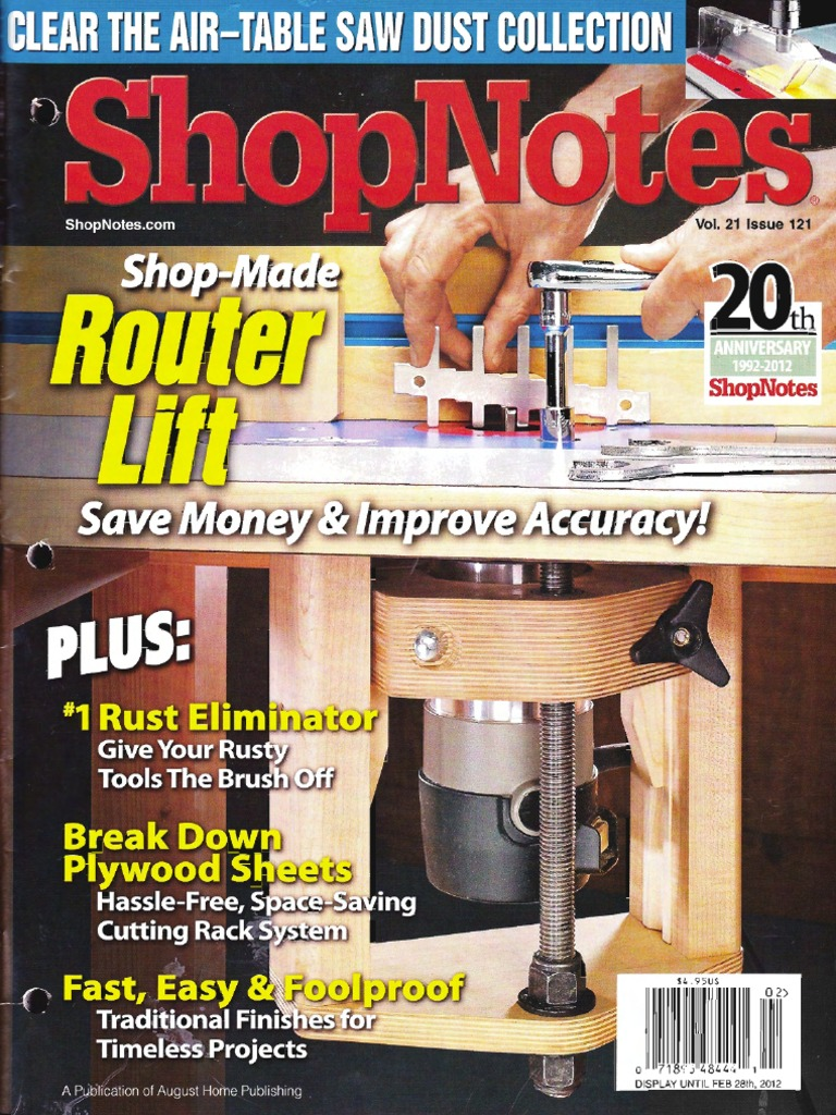 Shopnotes issue 6 | free ebooks download ebookee! | woodworking.