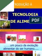 Hiostoria Da Tecnologoia Dos Alimentosintroducao