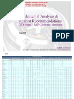 Fundamental Equity Analysis - OEX Index - S&P100 Index Memberspdf
