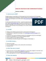 Guide de Demarrage de Creation d Un Gdg